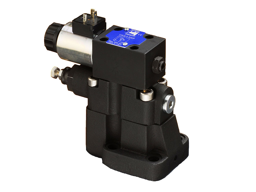 Proportional Pilot Operated Pressure Relief Valves