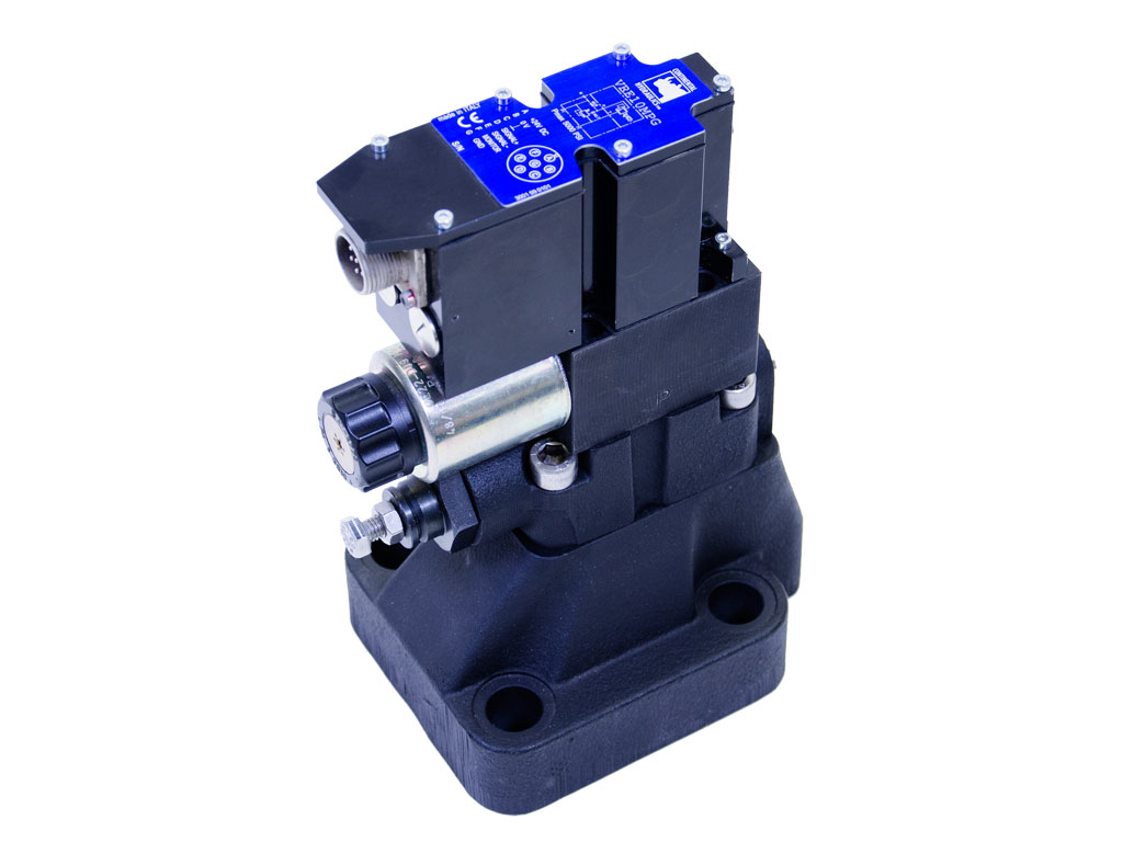 Proportional Pressure Relief Valves With Onboard Electronics