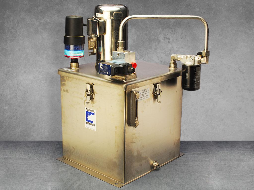 Wash Down Little Champ® Hydraulic Power Units